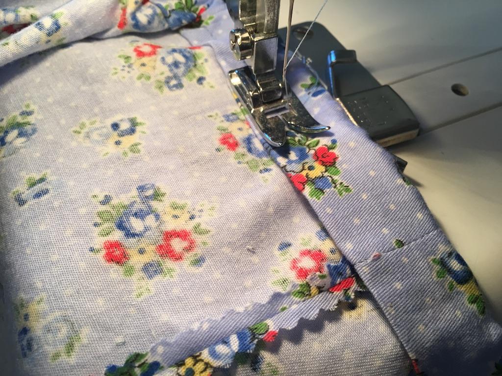 sew casing shut