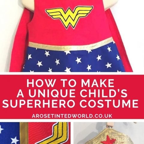 Making a Girl's Superhero Dress