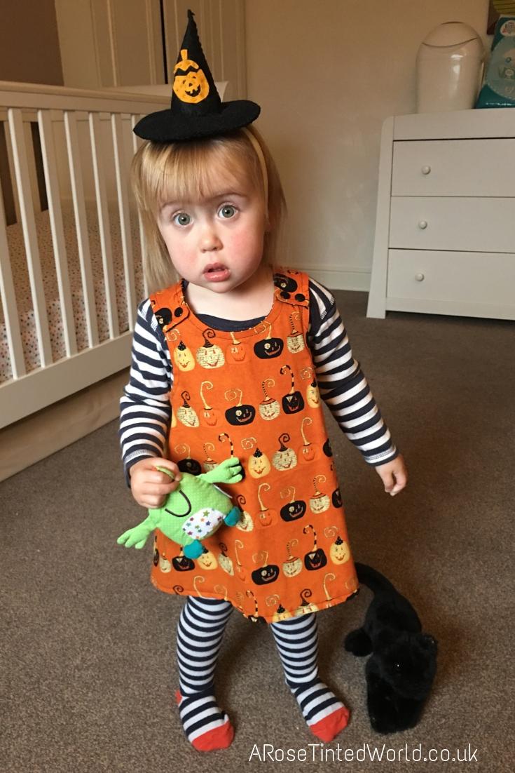 An Autumn Bucket List - Elizabeth in last year's outfit