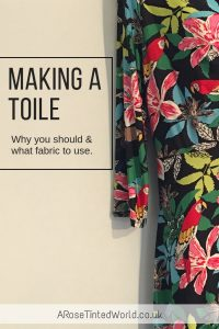 Making a toile