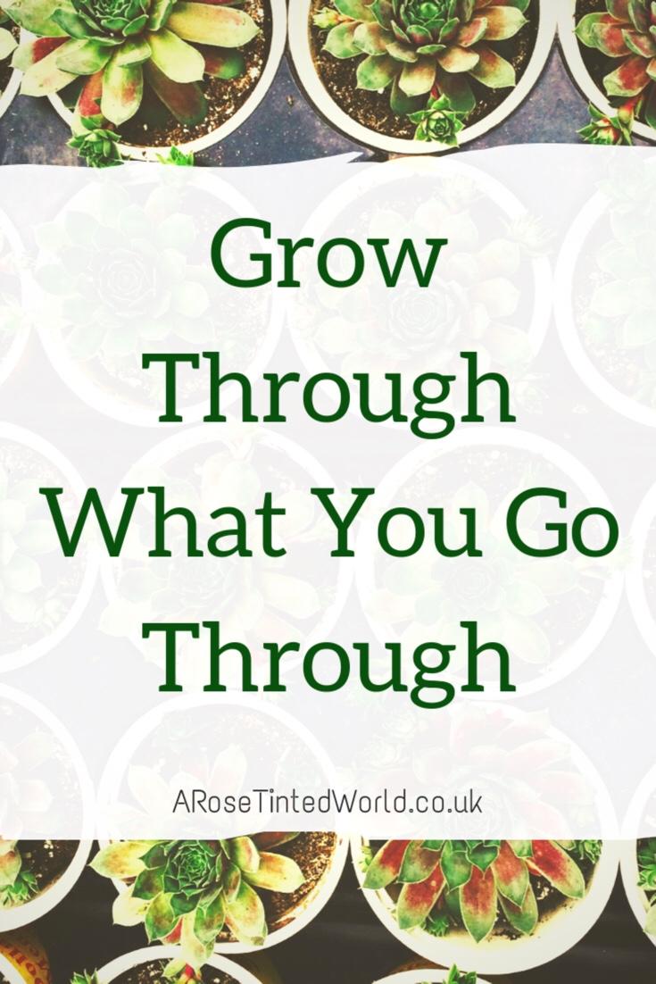 60 Positive Motivational Quotes - grow through what you go through