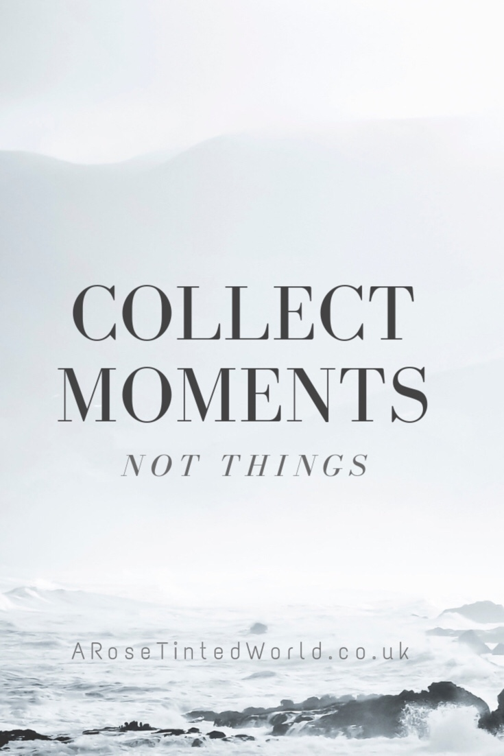 Merry Lagom Christmas - 60 Positive Motivational Quotes - collect moments, not things