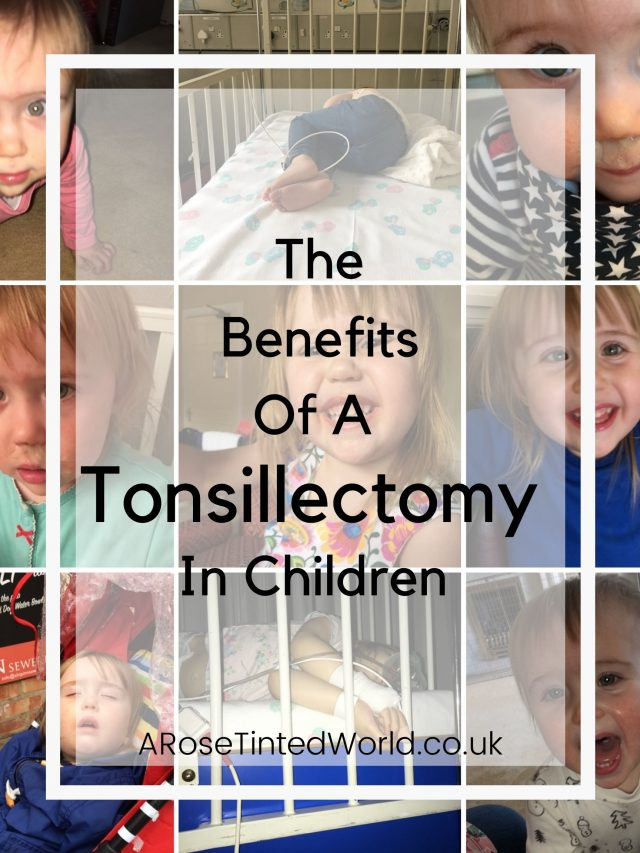 The Benefits Of A Tonsillectomy - should your child have their adenoids and tonsils out? What are the risks? Is there a benefit to having surgery? This post discusses all the benefits that we saw when our little girl had her tonsils and adenoids out. We talk about how it has improved aspects of her life, and how it could change your child's life too. Medical procedures in children, and elective surgery to perform an adenoidectomy are not to be taken lightly. Here is how to decided whether the operation is for your child.