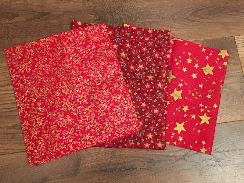 Advent Calendar Treat Bags - fabric