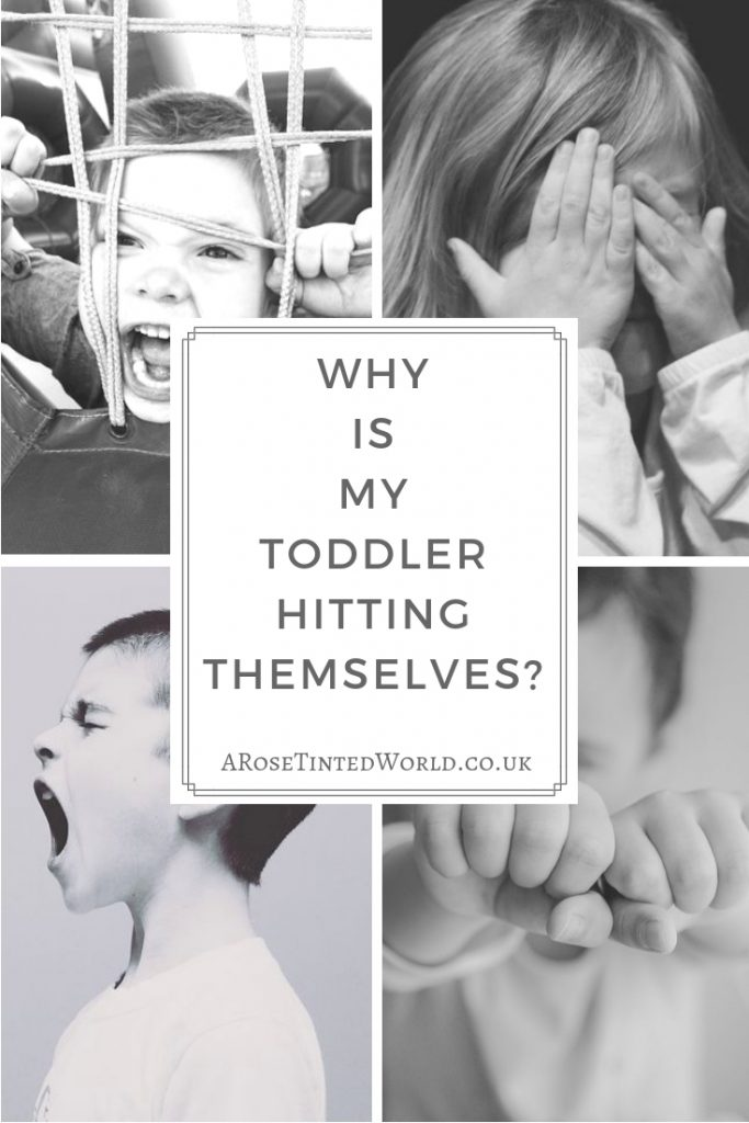Why is my toddler hitting themselves?