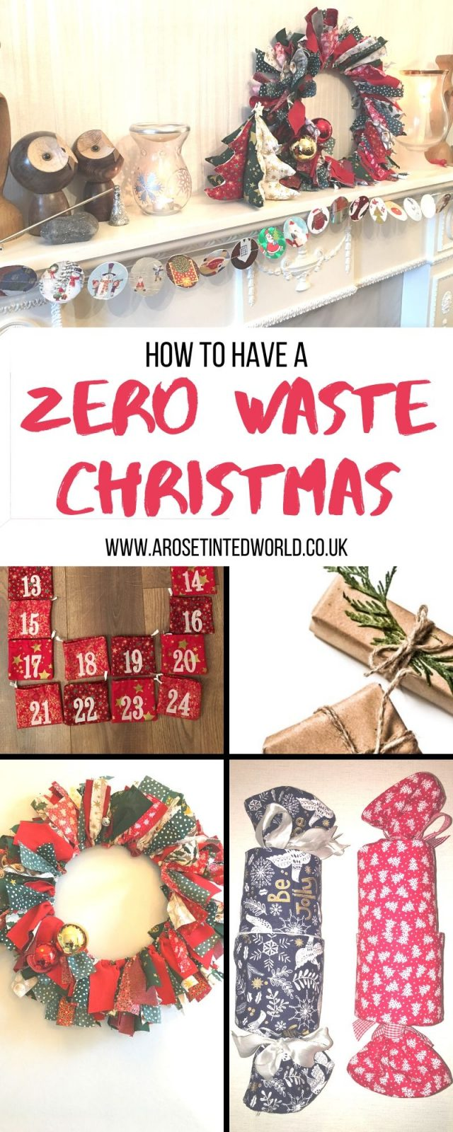 Zero Waste Christmas Tips - A Merry Lagom Christmas - here are some ideas hints tips and tricks on how to reuse, recycle and upcycle in order to have a more zero waste festive season . Holiday ideas on reducing waste and reduce plastic pollution this Xmas #lagom #christmas #zerowaste #christmascrafts #frugalchristmas #christmasdiy#christmasdecor #zerowastechristmas #sustainablechristmas #sustainability