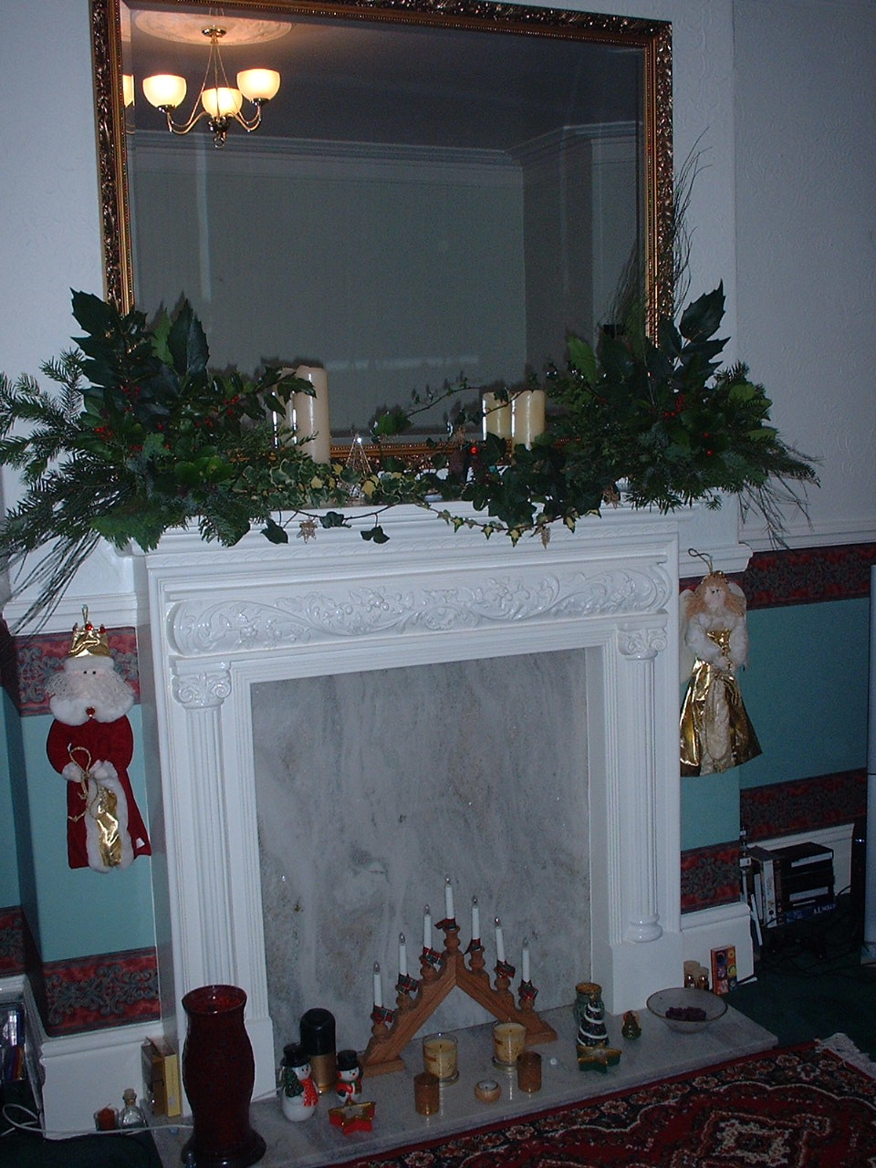 Merry Lagom Christmas - mantle