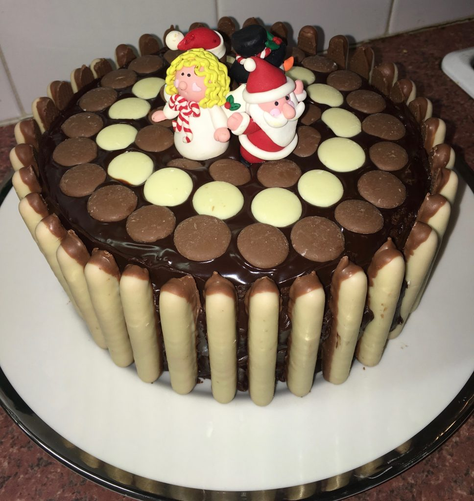 19th of December - finished cake