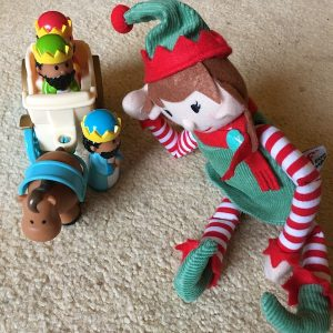 9th of December - the elf and the wise men