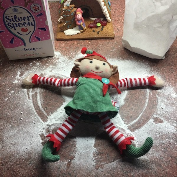 19th of December -elf in icing sugar