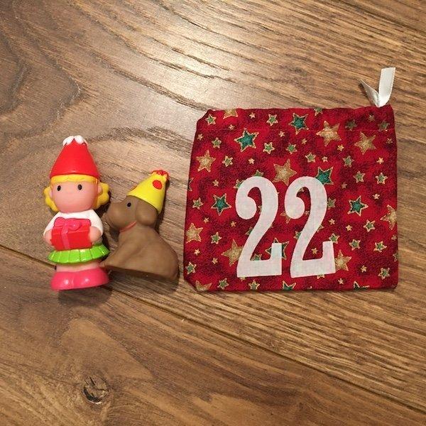 22nd of December - advent bag