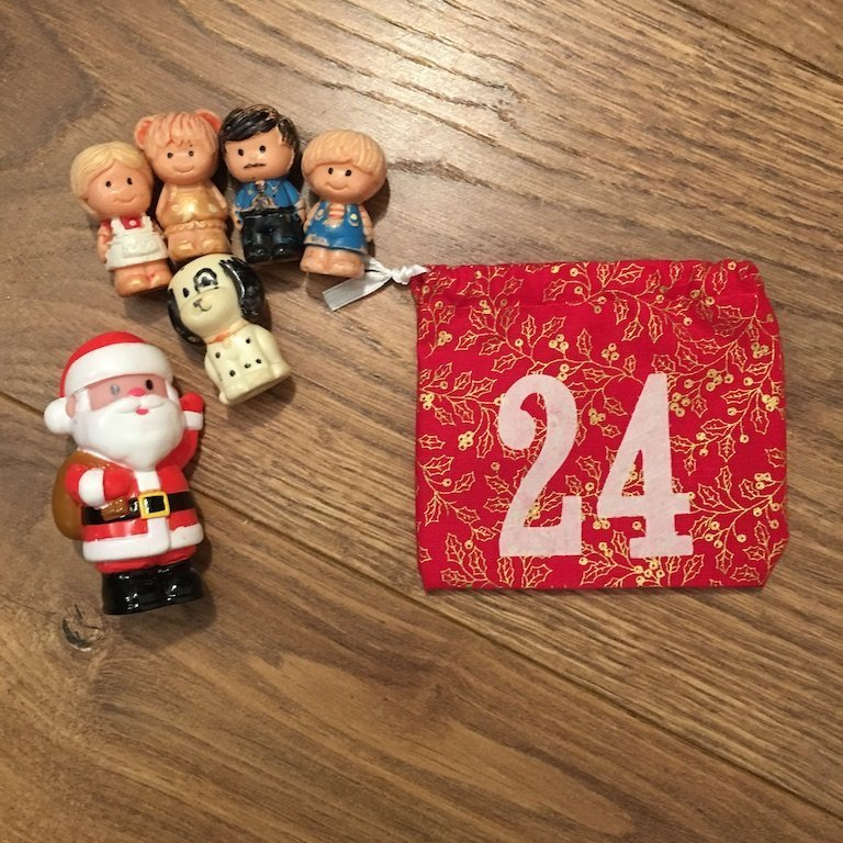 24th of December - advent bag