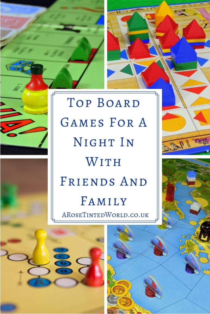 Top Board Games For A Night In With Friends And Family