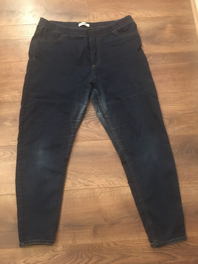 New Clothes From Old - old jeans