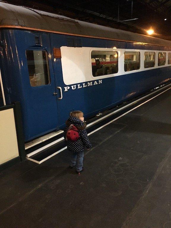 A Trip To York Railway Museum - pullman