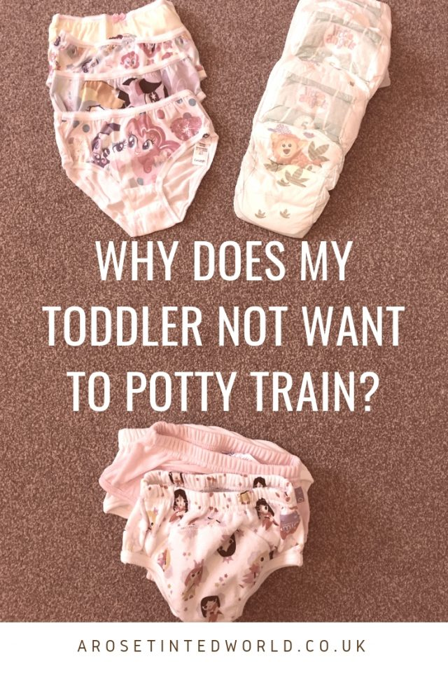 Why Does My Toddler Not Want To Toilet Train? - here are some hints tips and tricks into how to get your child to use the potty properly and be toilet trained. Helpful ways of training your child to go without nappies. #pottytraining #pottytrainingtips #pottytraininggirls #nappyfree #toilettrain #toilettraining #toddler #toddlerlife #toddlerlearning #parentingtips #parentinghacks #parentingadvice