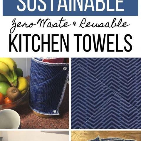 Reusable Kitchen Roll – Eco-friendly Alternative