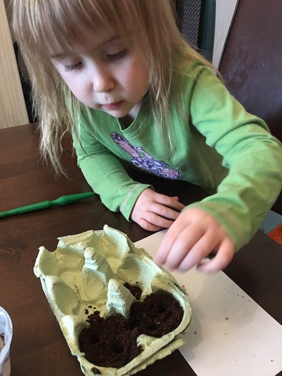Mud + Bloom Subscription Box Review - planting seeds