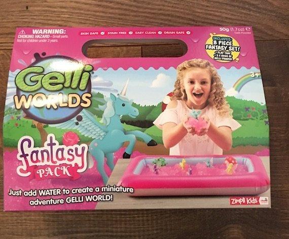 Zimpli Kids Gelli Worlds Fantasy Pack