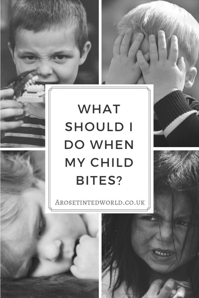 What Should I Do When My Child Bites?
