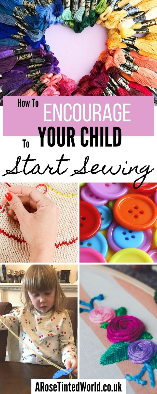 Encouraging Children to Start Sewing when young may lead to a great hobby as they get older. Find out ways to get all ages starting to sew! #sewing #sewingforbeginners #childrenscrafts #sewingwithkids #beginnerssewingprojects #beginnersewing