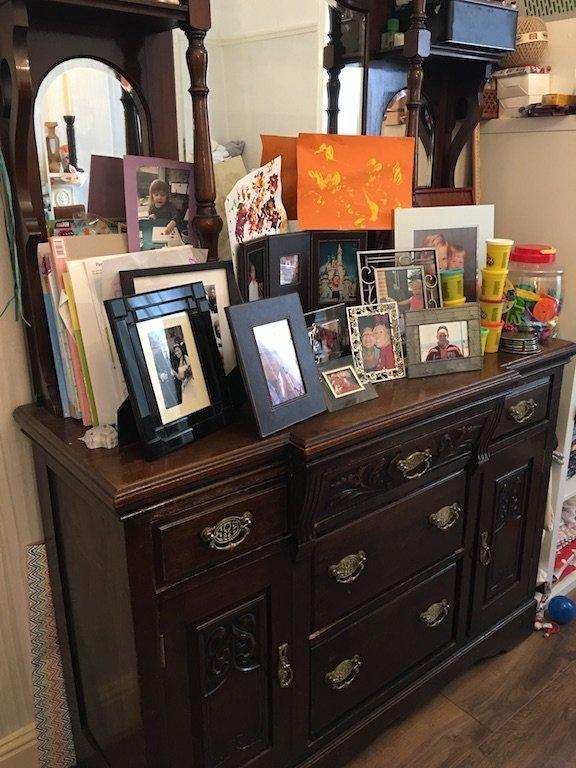 Encouraging Children to Start Sewing - grandads dresser