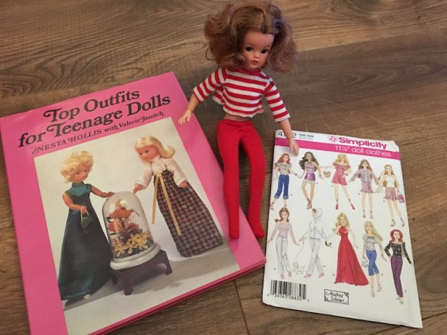 Encouraging Children to Start Sewing - dolls clothes