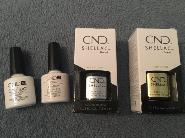 Doing My Own Shellac Manicure - shellac