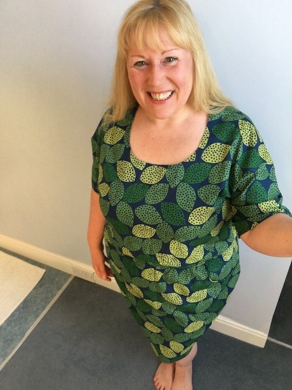 Tilly And The Buttons Bettine Dress - finished with me