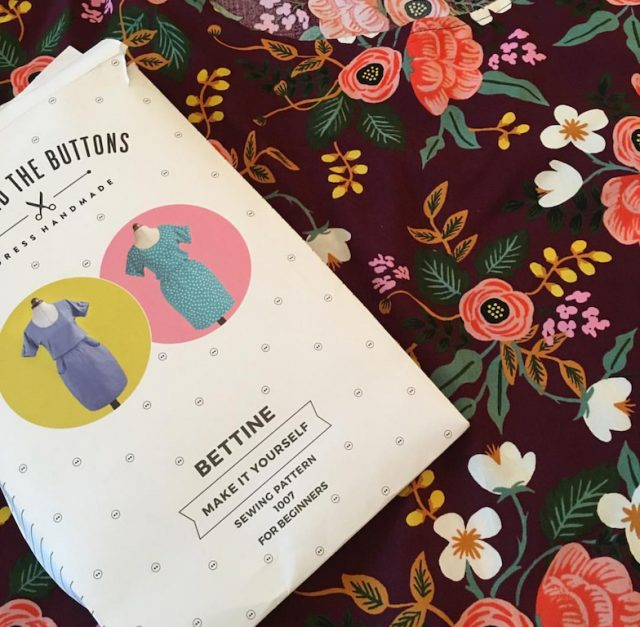 Tilly And The Buttons Bettine Dress - pattern
