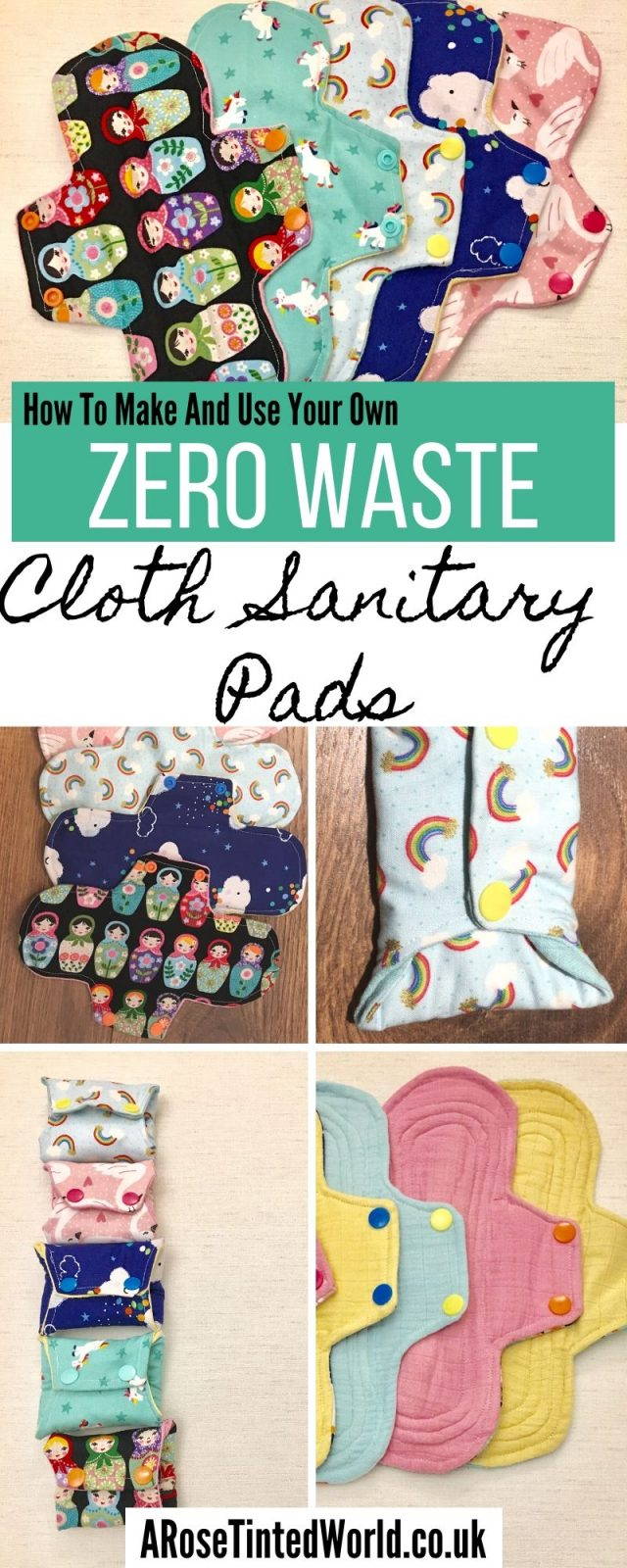 Reusable Cloth Sanitary Pads - How To Make And Use Them. Here is an amazingl FREE guide and the easiest pattern ever to make your own period pads ⋆ Eco friendly alternative to plastic disposables. These are a great way of upcycling old clothes and bedding. Upcycle from cloth. Zero waste period ideas. How to make, wash and clean them. Full guide on how to make your own. Chart of core layers needed. Materials to use. Easy DIY Step by step sewing tutorial. FREE pattern that is the easiest ever!