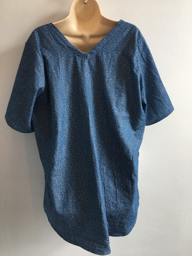 The Seen And Sewn Tracy Bee Tunic - back view
