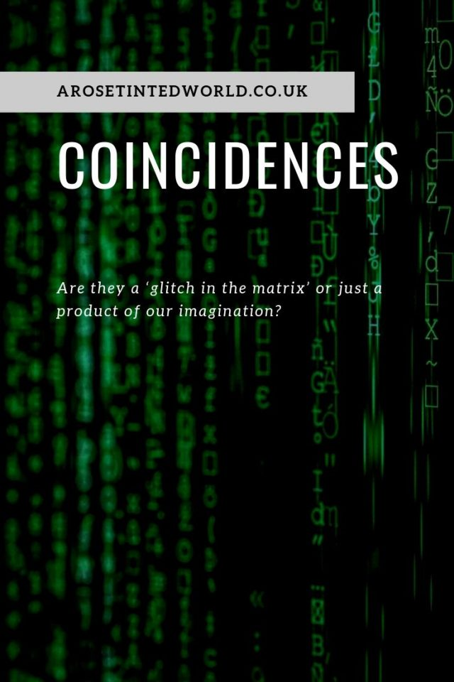 A Glitch in the Matrix - Are coincidences ever meaningful, or are they just chance happenings that we build up using our imagination? Strange happenings. Coincidence and coincidental things happen all the time. Here is a story of one of the strangest things that ever happened to me #Coincidence #coincidences #lawofattraction #weirdoccurence #strangehappening #strangeoccurence #oddhappening #strange #odd #LOA