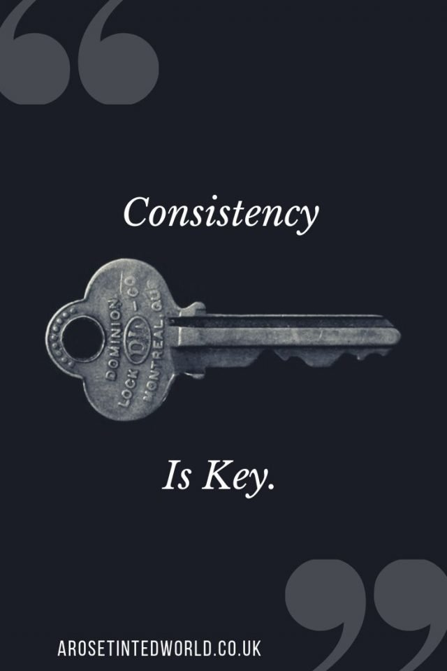 Consistency is key - motivational quote. #motivationalquote #keepgoing