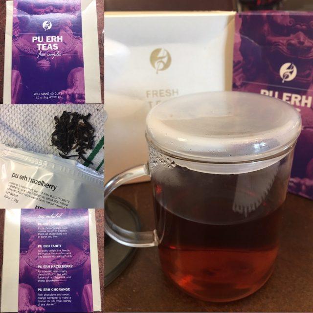 Pu Erh Hazelberry Tea