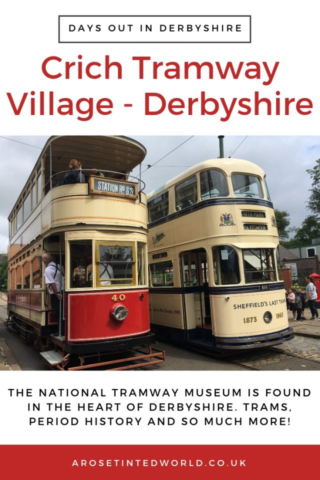 Crich Tramway Village -Attraction featuring a period village and trams in Derbyshire. Find out what we thought of this day out. National Tram Museum. Views of Derwent Valley. Woodland Walk. Wood Sculptures #trams #woodlandwalk #museums #museumvisits #daysouttomuseum #daysoutinUK #daysoutinDerbyshire #Derbyshire #DerbyshireDaysOut #DaysOutWithKids #KidsDaysOut #Attractions #DerbyshireDayOut #DerbyshireAttractions #PeakDistrict #DaysOutInPeakDistrict