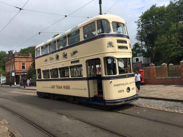 Sheffield Tram at Crich Tramway Village