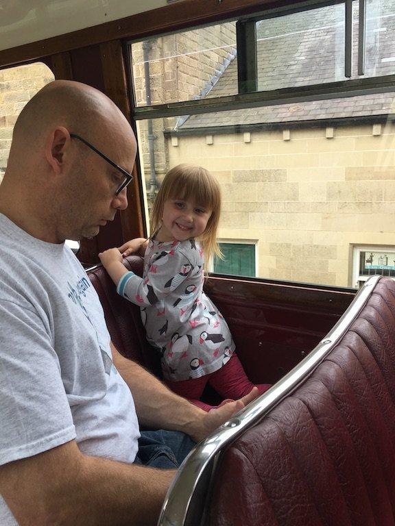 Tram ride