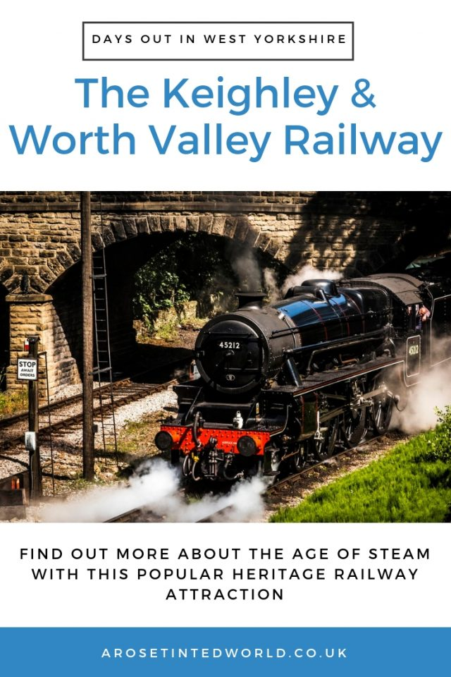 The Keighley And Worth Valley Railway - Attraction featuring steam trains in Bradford West Yorkshire. Find out what we thought of this Heritage Railway Day Out #steamrailway #railway #museums #museumvisits #daysouttomuseum #daysoutinUK #daysoutinYorkshire #Yorkshire #YorkshireDaysOut #DaysOutWithKids #KidsDaysOut #Attractions #YorkshireDayOut #YorkshireAttractions #Bradford #DaysOutInBradford #WestYorkshire #Haworth #Bronte