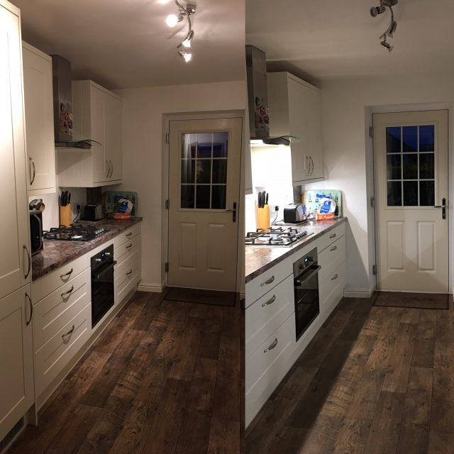 Downlighting can really change the way that the room looks