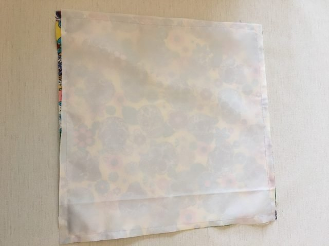 sew around edge right sides together