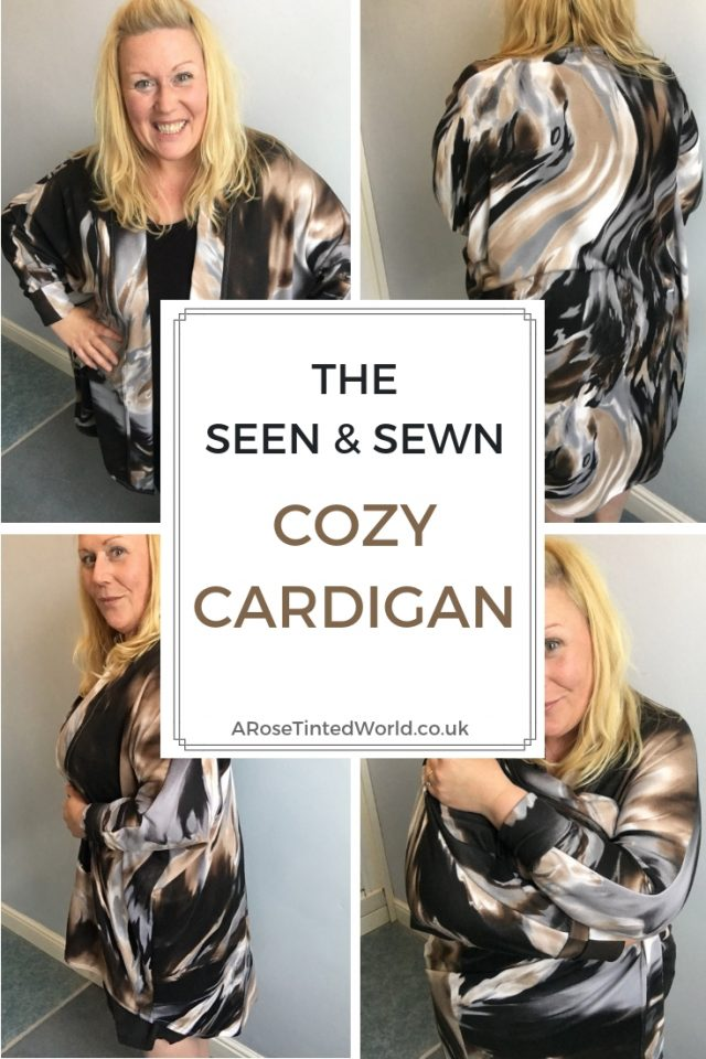 The Cozy Cardigan from Seen & Sewn - is a great beginners pattern for knit fabrics. Make your own DIY a longline lagenlook cardigan for layering this autumn. Great design features. #sewing #sewingpattern #slowfashion #handmaderevolution #seen&sewn #seenandsewn #seenandsewncozycardigan #seen&sewncozycardigan #lagenlook #knitpattern #sewingstretch