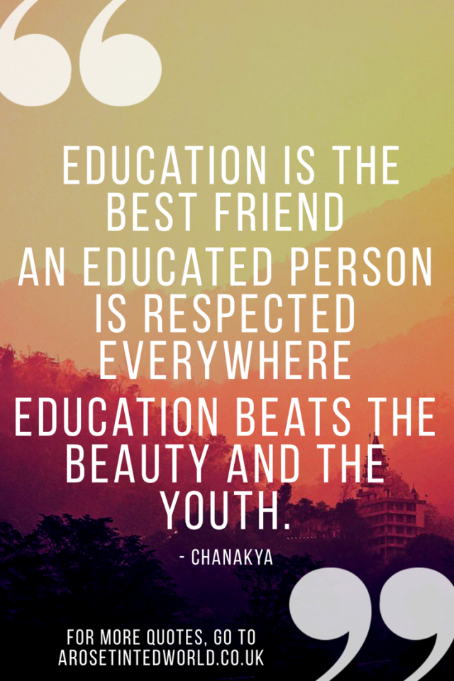 The Power of Education - positive motivational quote -#quotes #motivationalquotes #motivation #quotestoliveby #quoteoftheday #quotesdaily #quotesinspirational #quotesinspirationalpositive #quotesmotivation #positivequotes #positivethinking #positivethoughtsquotes #chanakya