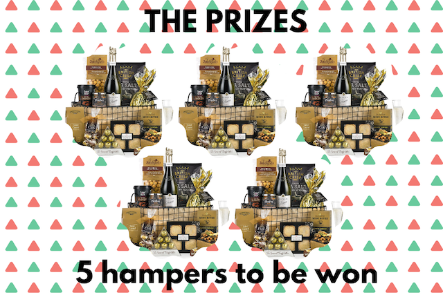The UK Bloggers' Big Christmas Giveaway!5 Hampers To Be Won