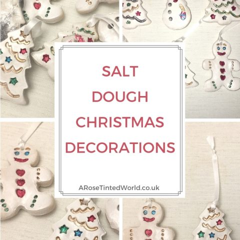 Salt Dough Christmas Decorations