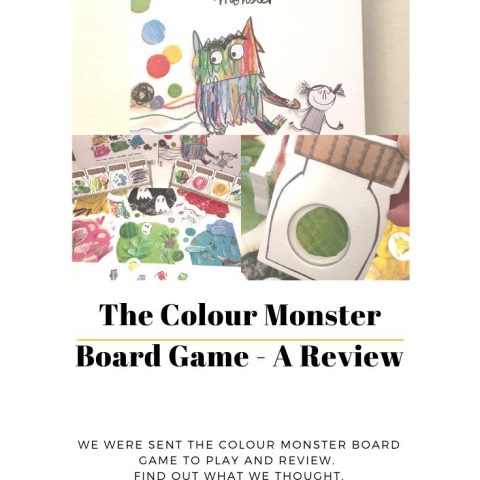The Colour Monster Board Game – A Review