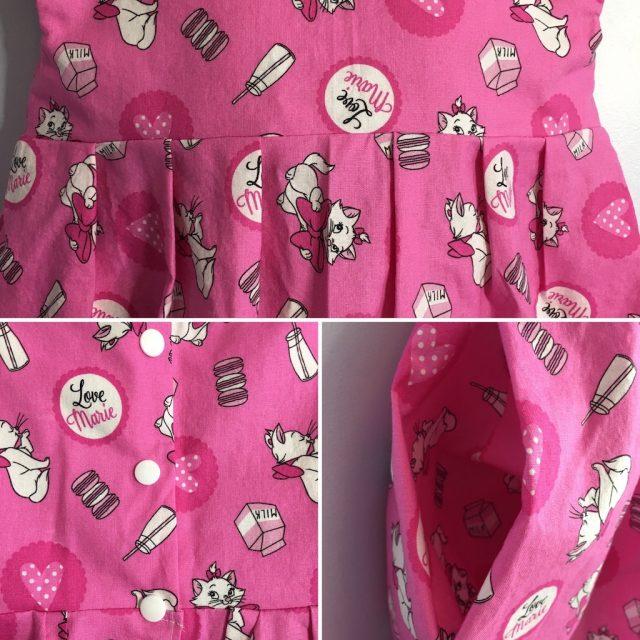 Details of the Geranium Dress