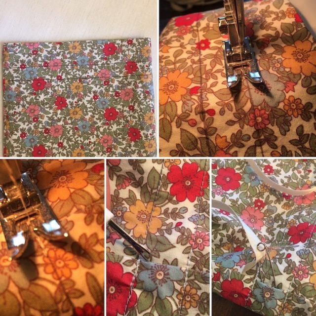 Sewing a drawstring bag - method 2 part 3