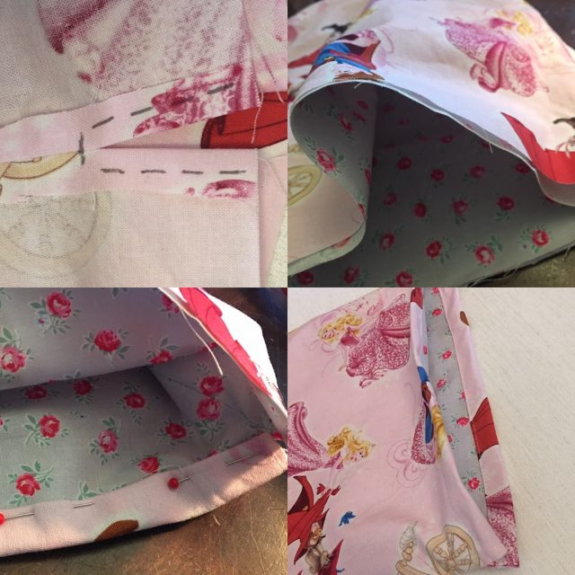 Method 1 part 2 - sewing a drawstring bag