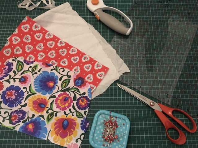 Equipment needed for mini cloth soap holder bags